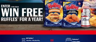 Free RUFFLES For a Year Contest - BBQSZN.ca
