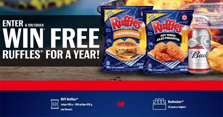 Free RUFFLES For a Year Contest - BBQSZN.ca