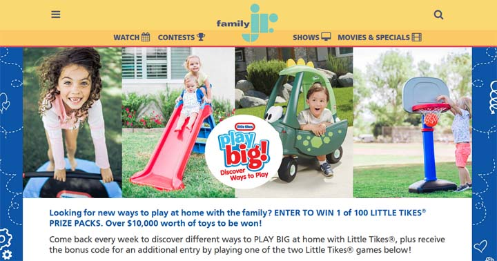 Family Jr Little Tikes Play Big Discover Ways to Play Contest