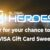 Global Heros Visa Gift Card Sweepstakes
