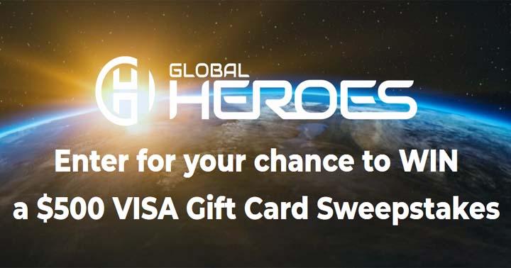 Global Heros Visa Gift Card Sweepstakes