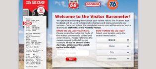 Phillips 66 Conoco 76 Customer Satisfaction Sweepstakes