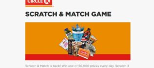 Circle K Scratch & Match Game Sweepstakes