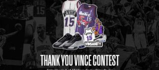 Toronto Raptors Thank you Vince Contest
