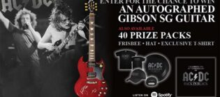 AC/DC Back in Black 40th Anniversary Contest
