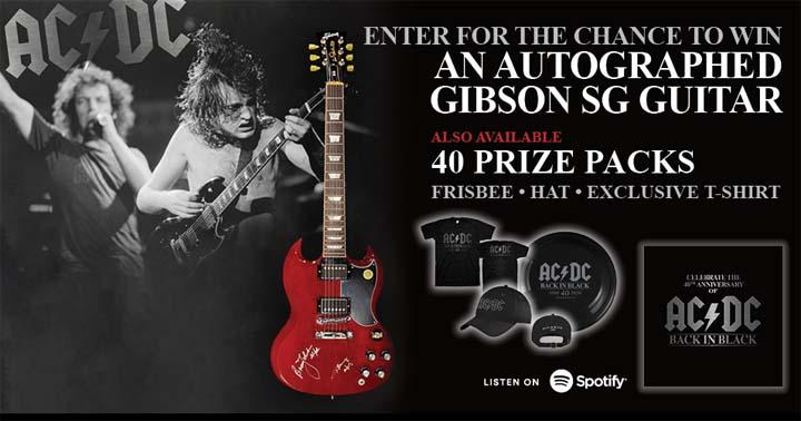 AC/DC Back in Black 40th Anniversary Contest