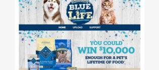 Blue Buffalo for Life Sweepstakes