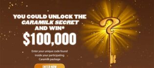Caramilk Unlock the Secret & you could Win $100,000 Contest