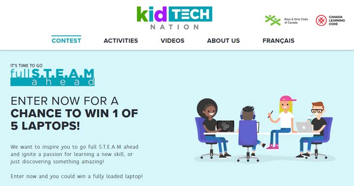Kid Tech Nation Contest