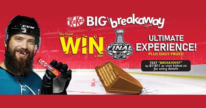 KitKat Big Breakaway Contest