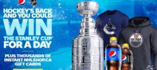 Pepsi Hockey's Back Contest