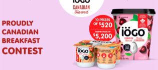 Win one year of Yogurt iögo Contest