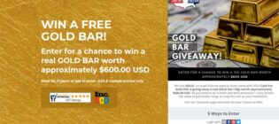 Cash for Gold USA Win a Real Gold Bar Contest