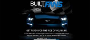 Ford Nascar Built for Fans Promotion