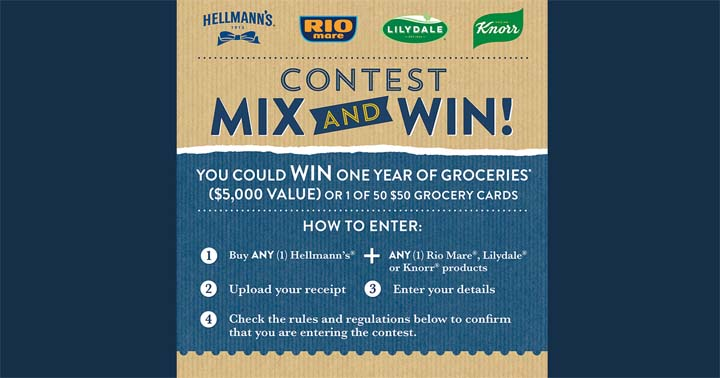 Hellmann's MIX and WIN Contest