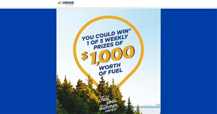 Journie Fuel Your Summer Contest