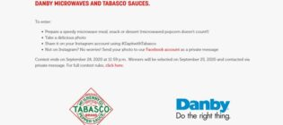 Zap it with Tabasco Contest