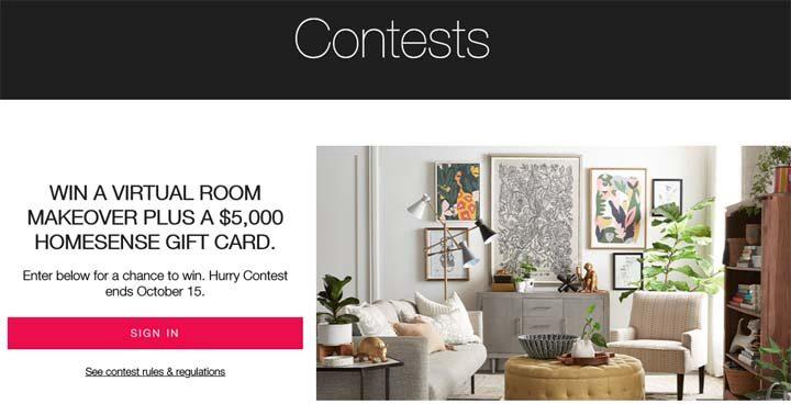 TJX STYLE+ & HomeSense Virtual Interior Designer Contest