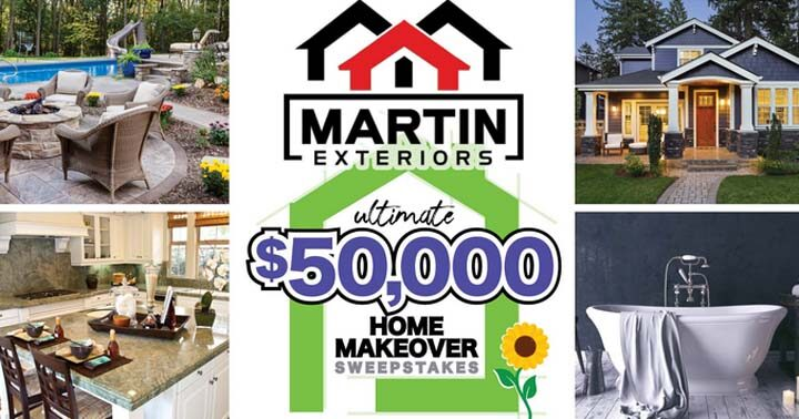 Ultimate $50,000 Home Makeover Sweepstakes