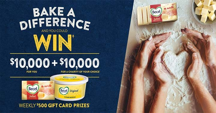 Becel Bake a Difference Contest