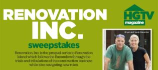 HGTV Magazine Renovation, Inc. $5,000 Sweepstakes