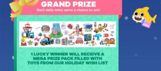 12 Days of Nick Jr. Holiday Sweepstakes & Instant Win Prizes