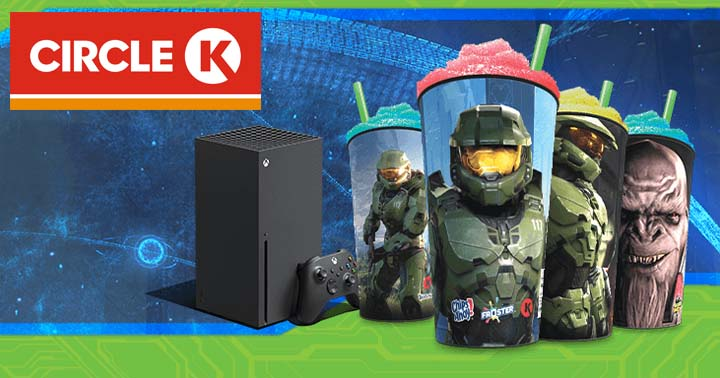 Circle K Snack On With Xbox Promotion