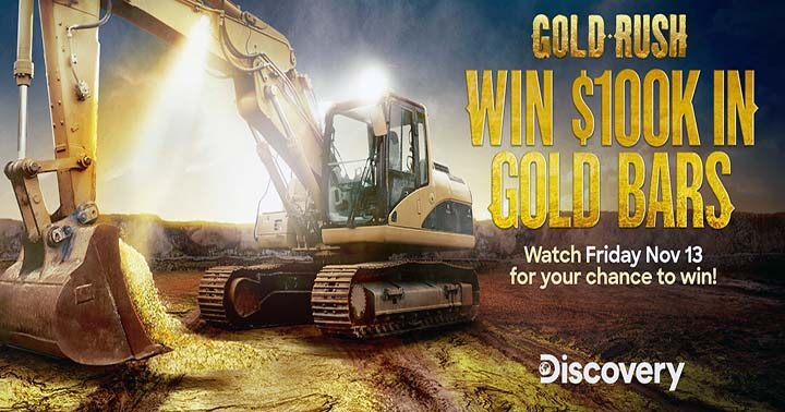 Discovery Channel Friday Gold Giveaway