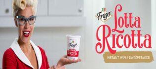 Frigo Cheese Lotta Ricotta Instant Win Game & Sweepstakes