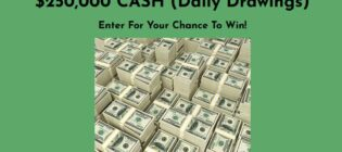 Taptastic SweepsZilla TheWinningKey CarLoverAdvice Two Hundred Fifty Thousand Dollar Sweepstakes