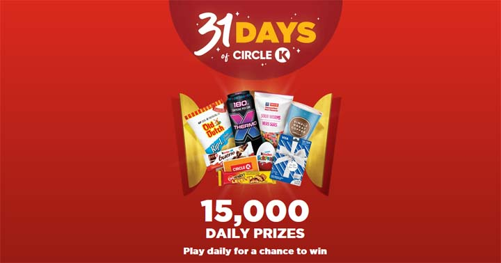 31 Days of Circle K Contest