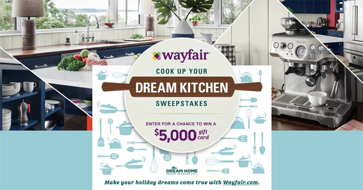 Food Network Cook up your Dream Kitchen Sweepstakes