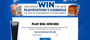Play Big, Win Big with PS5 & Big G Cereals Promotion