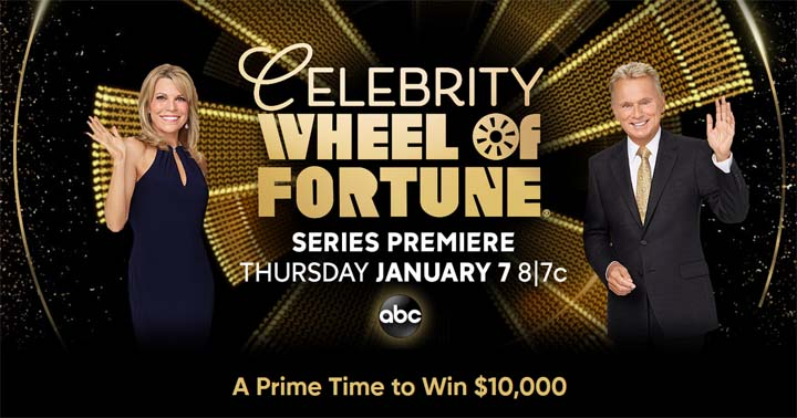 Celebrity Wheel of Fortune $10,000 Giveaway