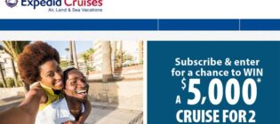 Expedia Cruises Win a Dream Vacation Sweepstakes