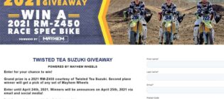 Mayhem Wheels Twisted Tea H.E.P. Supercross Giveaway