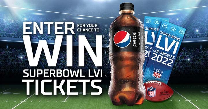 Pepsi Zero Sugar Text to Win Super Bowl Contest