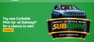 Arrive in Style with Subway Curbside Pick-Up Contest