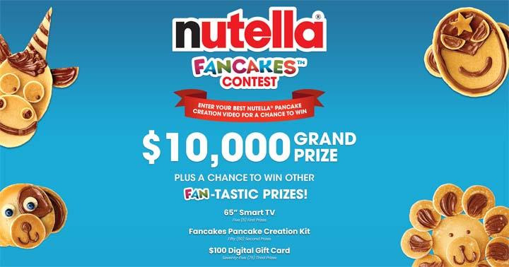 Nutella Fancakes Contest