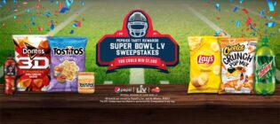 PepsiCo Tasty Rewards Super Bowl Sweepstakes