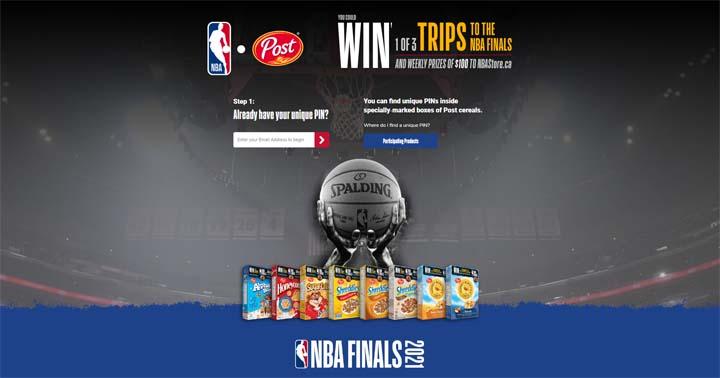 Post Foods NBA Finals Contest