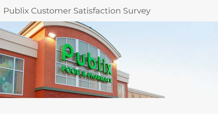 Publix Customer Voice Survey Sweepstakes