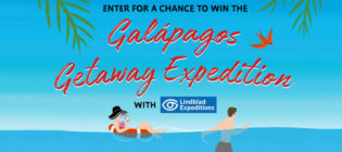 Simon & Schuster Galapagos Getaway Cruise with Lindblad Expeditions Sweepstakes