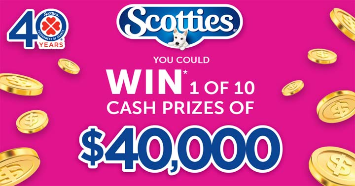 Scotties Tournament of Hearts STOH 40th Anniversary Contest