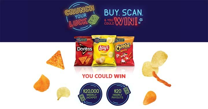 Lay's FritoLay Crunch your Luck Sweepstakes