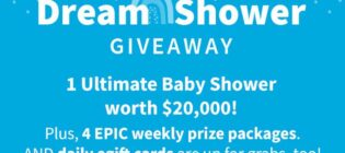 Carter's Dream Shower Sweepstakes