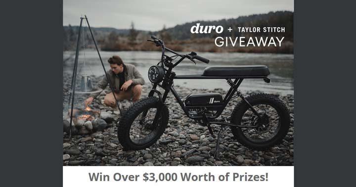 Duro Bikes + Taylor Stitch Giveaway