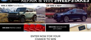 Ford Repair and Win Sweepstakes