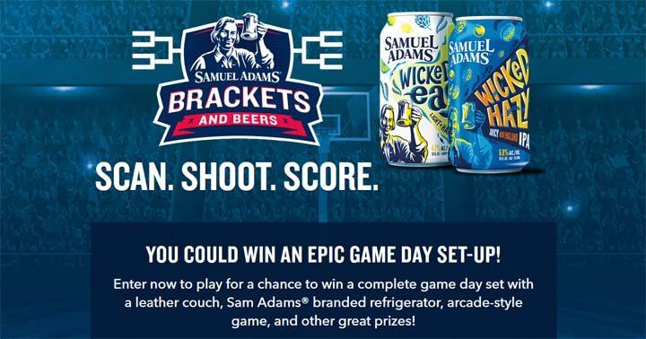 Sam Adams Brackets and Beers Sweepstakes