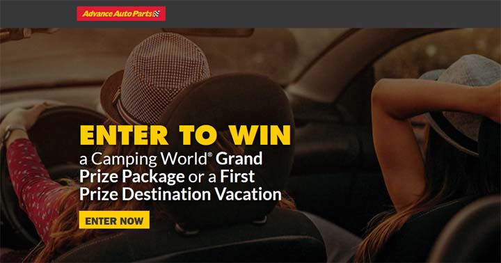 Advance Auto Parts Road Trip Ready Sweepstakes